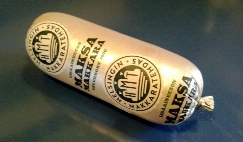 Tänään tein Maksimaaliset makkaraleivät stadilaiseen maksamakkaraan (jotka kylläkin valmistetaan Salossa).